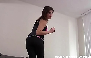 My ass looks outstanding in these yoga pants JOI