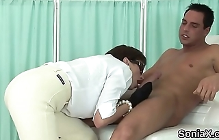 Unfaithful uk milf lady sonia shows her mammoth breasts