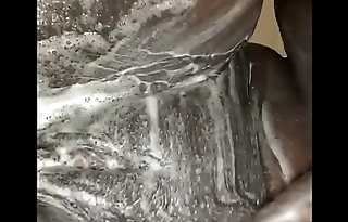 Wet and soapy bbw