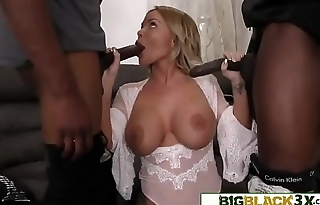 Trophy Beauty Double-Teamed In Front Of Her Hubby - Rachele Richey