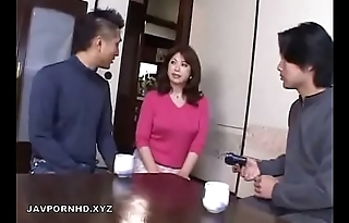 Japanese Mom connected with bathroom fucked by Son weasel words