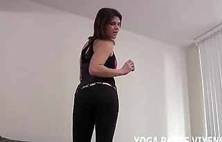 These yoga pants make my ass look amazing JOI