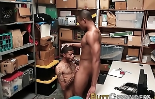 Black thief ass tongued