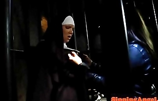 Who is the nun in white?