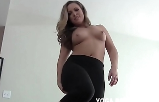 How does my ass look in these tight yoga pants JOI