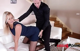 Submissive Fetish Babe Nikky Dream is Collared, Cuffed, and Deeply Aggravation Fucked GP166