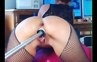 Girl comes hard with maсhine - Attaching 2 on getgirls.online