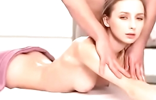 beautiful babe massage