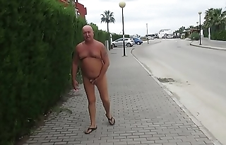 Russian exhibitionist thither the Spanish city