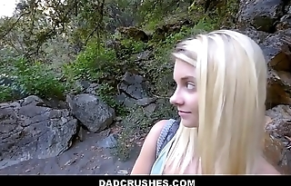 Hot Blonde Shy Tiny Teen Feigning Daughter Riley Star Gets Feigning Dad Big Cock While On Camping Trip POV