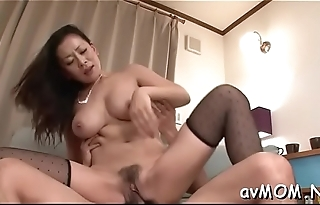 Milf hottie strokes and fondles will not hear of wet cunt on web camera