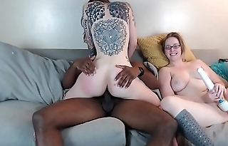 Cam Session 17-10-01 Cum in Mouth Threesome Pt I